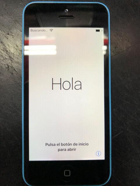 Apple iPhone 5C Azul, 16Gb Libre (fallo de bluetooth)