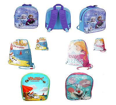 Para Niños Niños Niñas Disney Frozen Mochila Natación Zapatos Mochila Escolar