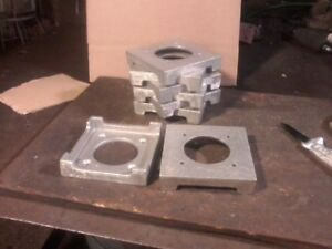 Post Base MADE IN USA for 6x6 Post and column Pack of 6