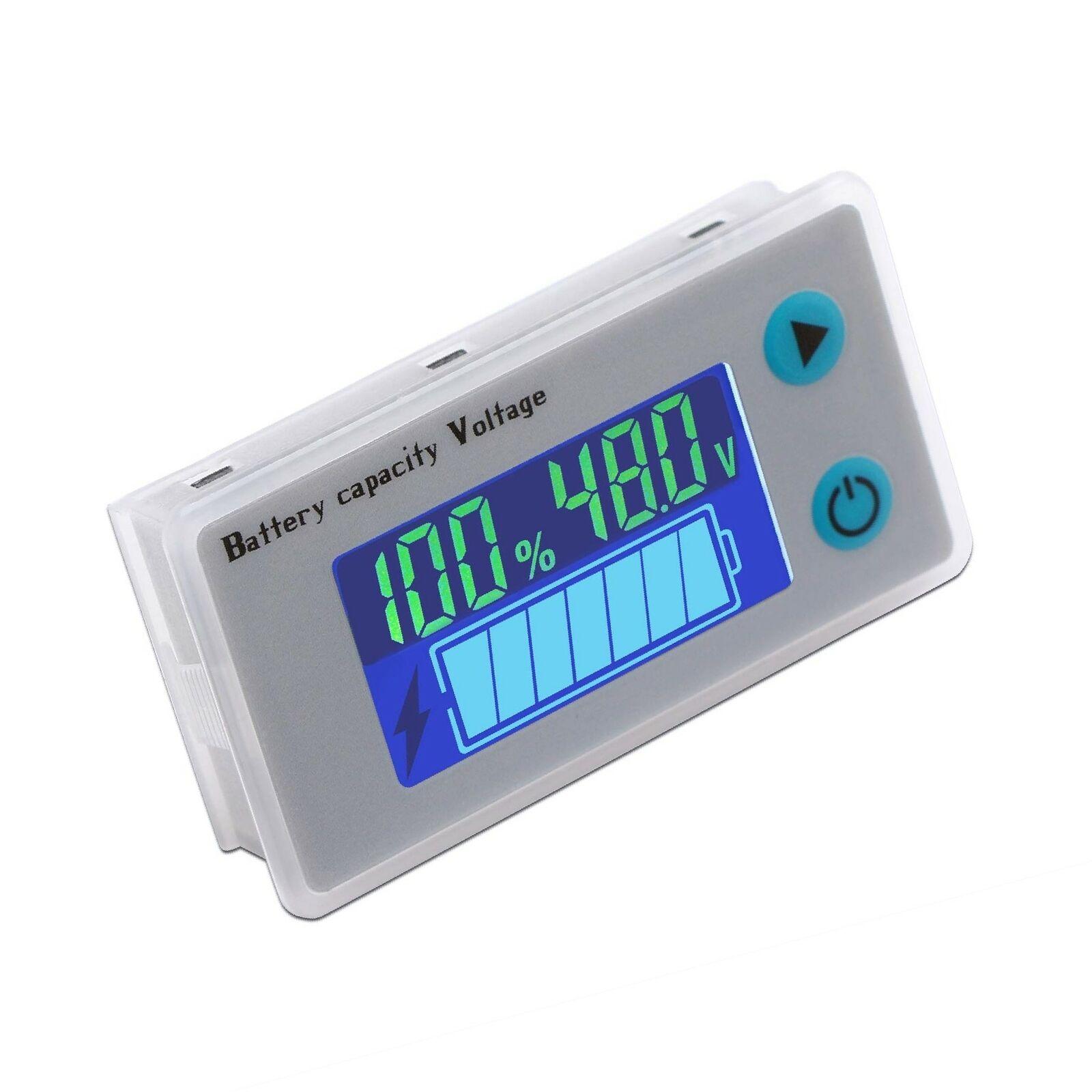 DROK Battery Meter, 48V Digital Battery Remaining Capacity Percentage Level V...