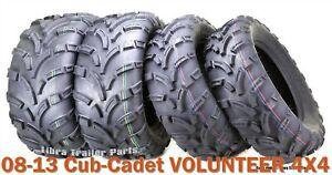 Set of 4 WANDA ATV//UTV Tires 25X8-12 25X10-12 for 2002-2006 SUZUKI VINSON 500