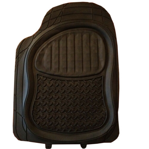 Rubber PVC Car Mats Extra Heavy Duty Set fits Alfa Romeo 147 145 146 155 156 159