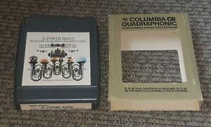 E. Power Biggs Bach Organ Favorites 8 Track tape QUAD CBS MAQ 32791 Quadraphonic