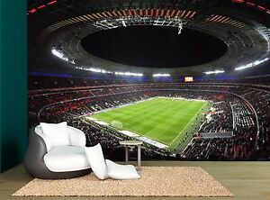 Image Is Loading Lights Color Soccer Football Stadium Wall Mural Photo  Part 36