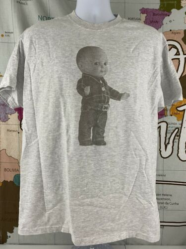 Vintage Lee Dungarees Buddy Doll T-Shirt Size Larg