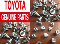 Genuine Toyota Scion Lexus Air Box Filter Element Cover Bolts Screws Nuts