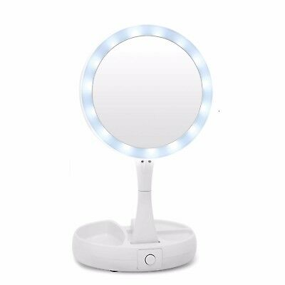 My Fold-Away Mirror The Lighted Double Sided Vanity Makeup Mirror, As Seen on TV