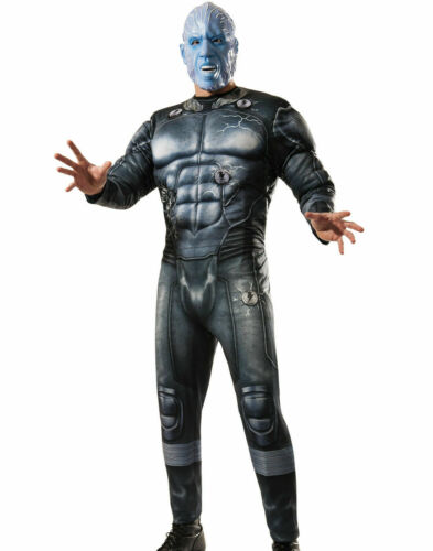 Amazing Spider-Man Electro Halloween Costume Muscle Adult Marvel Rubies 880665