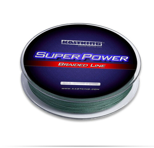 KastKing SuperPower Braided Fishing Line 150 yards 30lb Green Leader Line
