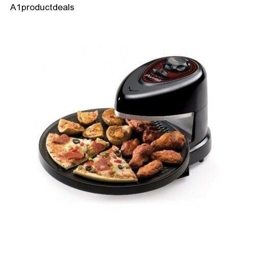 Presto Pizzazz plus rapide électrique modèle Bakers Noir Four à pizza 120 V Intérieur