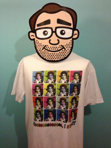 andy warhol T-Shirt Dot coton Pop Art juin Marron // Eastenders // ooooo je dis