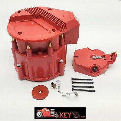 Red GM HEI Distributor Cap Rotor Set For SBC BBC 305 350 50K//65K Volt Chevy K549