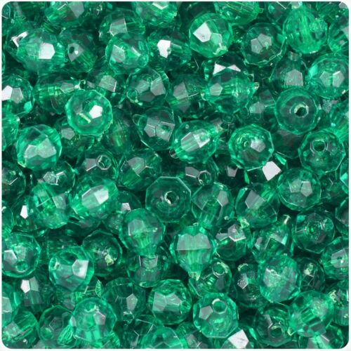 great for those holiday projects!! 250 Christmas Green Crystal Faceted Beads
