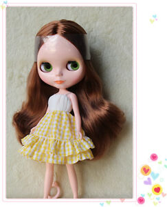 "Takara 12/"" Neo Blythe Doll from Factory Nude Doll special mixed colorful hair#12"