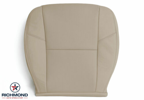 2011 2012 Chevy Tahoe LTZ Driver Side Bottom PERFORATED Leather Seat Cover Tan