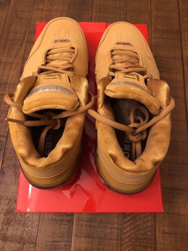 Nike Air Zoom Generation Generation Generation ASG QS Wheat 2018 LeBron James Men's Size 7 AQ0110-700 898db8
