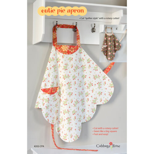 """CABBAGE ROSE /""""CUTIE PIE APRON/"""" Sewing Pattern"""