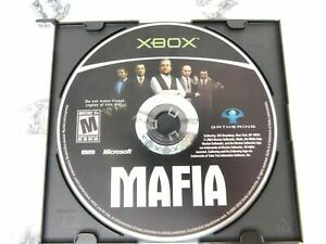 Xbox-Mafia-Microsoft-2003-Cleaned-and-Tested-Disc-Only
