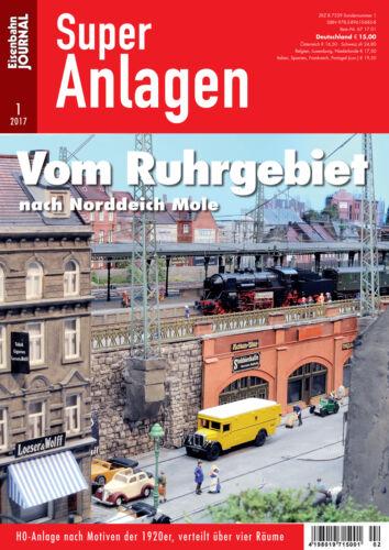 Vom Ruhrgebiet nach Norddeich Mole 1-2017 Eisenbahn Journal