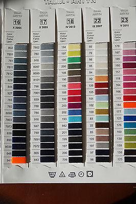 ,40//2 4572m 120 Polyester Nähgarn 0,48€//1000m Overlockgarn 1x Kone 5000Y