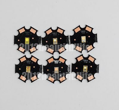 10pcs/lot 3W Luxeon Rebel ES CW WW Red Green Royal Blue Amber High Power Led