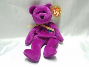 Ty Beanie Babies Millennium Bear - With ERRORS - Millenium - Pristine Condition