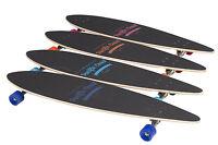 SKATEBOARD LONGBOARD Skate Board Komplettboard ABEC7 Surfboard 112cm 9 Schichten