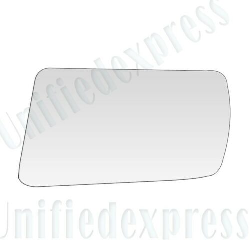REPLACEMENT-MIRROR-GLASS+ADHESIVE PAD~SAAB 900 9000 POWER LEFT DRIVER SIDE VIEW