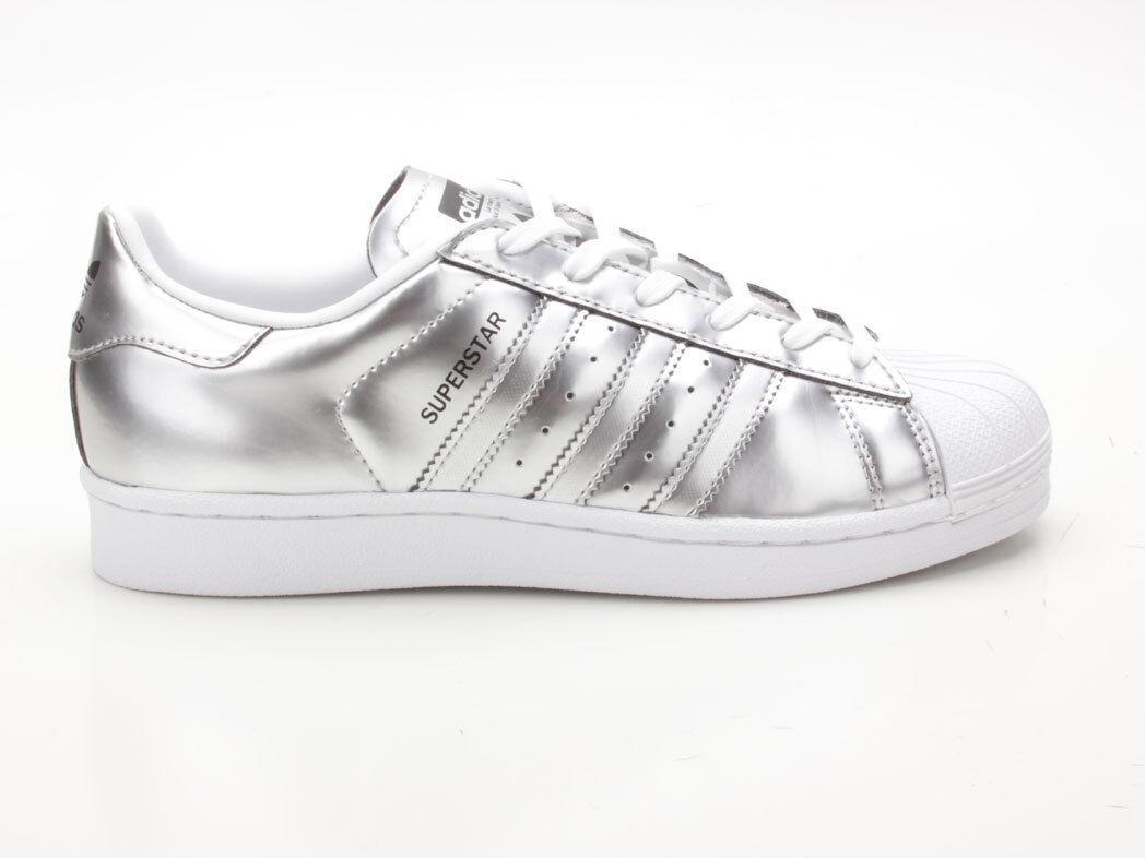 Adidas Superstar W CG3681 silber-weiß silber-weiß silber-weiß 92cc06
