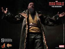 "Sideshow Hot Toys 1/6 Scale 12"" Marvel Iron Man 3 The Mandarin Figure MMS211"