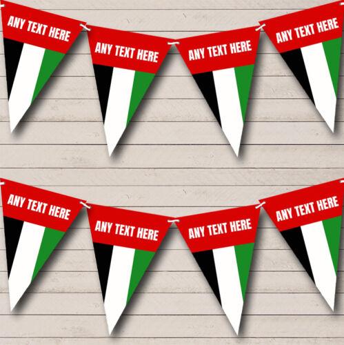 Émirats Arabes Drapeau carnaval fete /& Street Party Banner