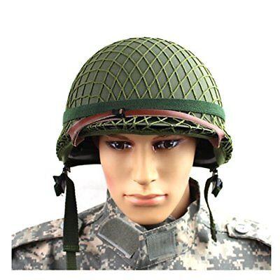 U.S.ARMY x 2 X  2 ORIGINAL WWII US M1 HELMET COTTON NETS
