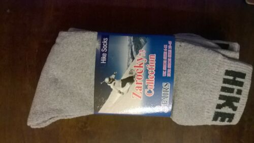 12 Pairs Thick Hike Socks Zarocky 73 collection UK 6-11 wholesale