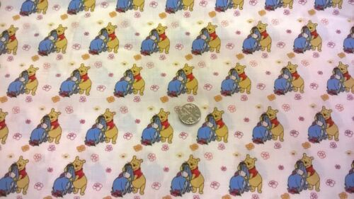 Winnie the pooh 100/% cotton fabric 6 colours//design fq //1//2 metre or 1 metre