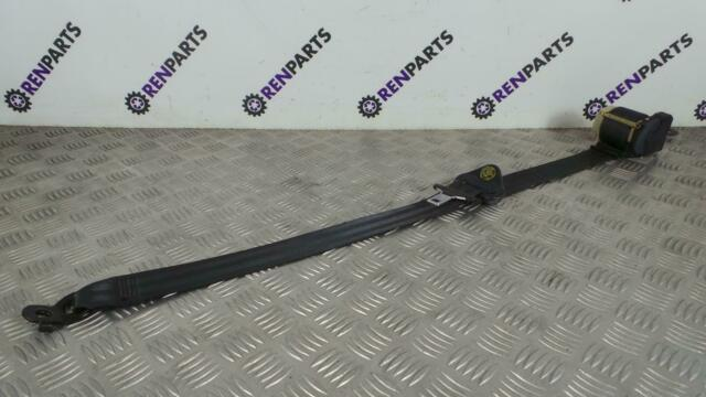 Renault Clio II PH2 2001-2006 LH UK Passenger Side Front Seat Belt Black