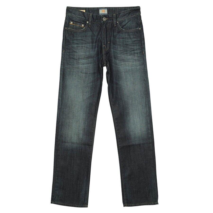 NWT Hugo Boss orange Fashionable Regular Fit orange25 Zip Jeans Size 33X30