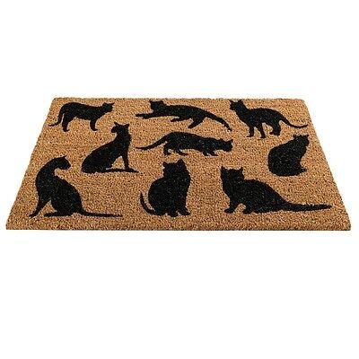 Gardman Cats Montage Coir Doormat 75cm x 45cm