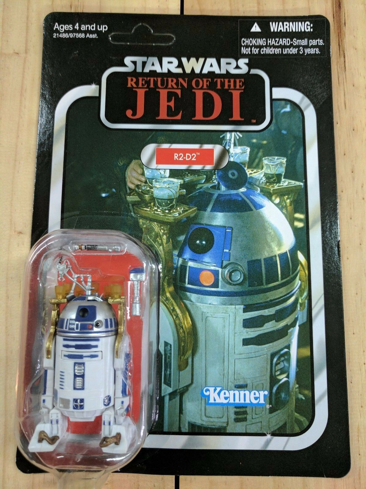 STAR WARS VINTAGE COLLECTION 2010 VC25 ROTJ R2-D2 3 3 4  FIGURE BNIB MOC RARE