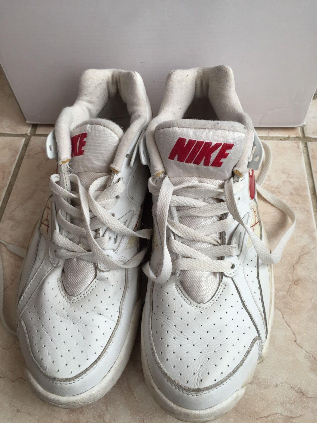 Nike Air Trainer SC High Bo jackson White/Red Sz 7