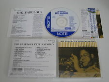 FATS NAVARRO/THE FABULOUS FATS NAVARRO VOL.1(BLUE NOTE TOCJ-1531) JAPAN CD+OBI