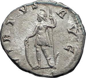 GORDIAN-III-240AD-Rome-Ancient-Authentic-Genuine-Silver-Roman-Coin-VIRTUS-i73176