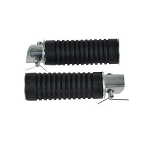 2pcs Footrest Pedal Rubber Bar For Honda CB360 CB400F CB450 CB500 CB550F CB750