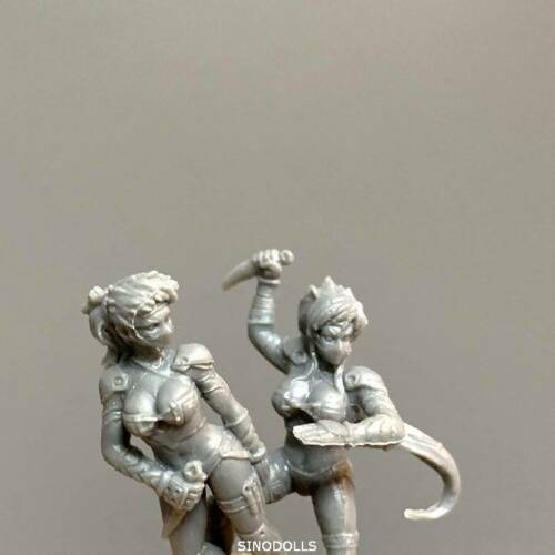 8pcs LADY Figure Fit For Dungeons /& Dragon D/&D Nolzur/'s Marvelous Miniatures