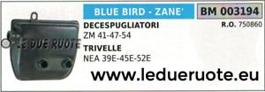 750860 SILENCIEUX TUYAU D'ÉCHAPPEMENT SILENCIEUX DÉBROUSSAILLEUSE azul BIRD