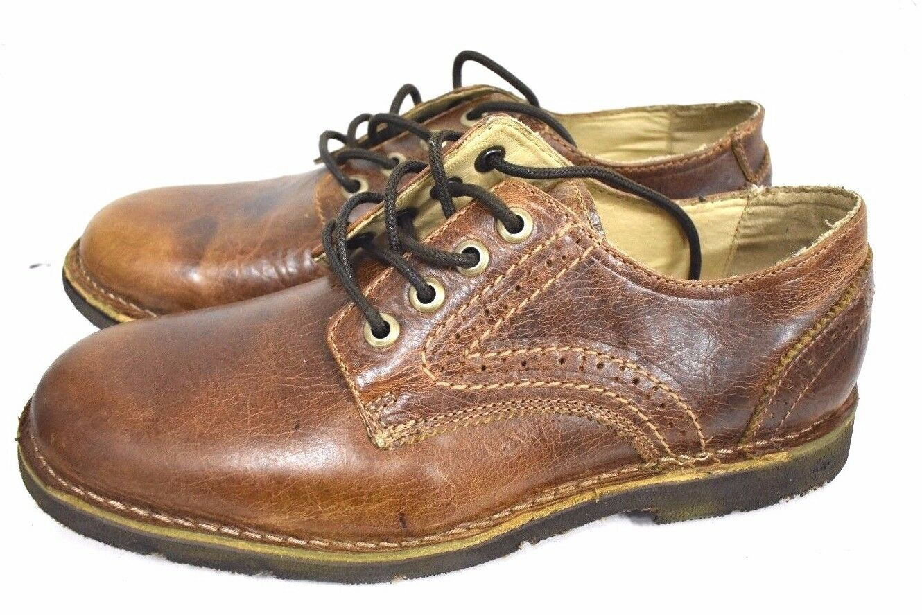 New bed stu mens Boogies Grain nepal leather oxford lace up zapatos