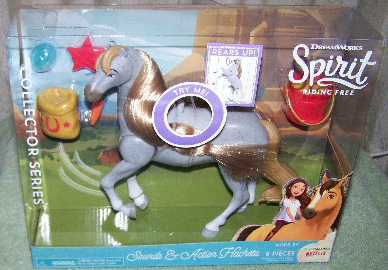 Dreamworks Spirit Riding Free Sound And Action Hachet Realistic Horse Sounds NEW