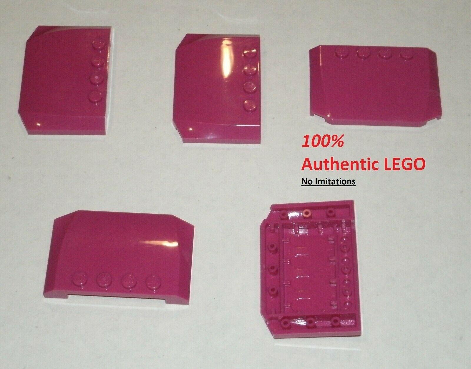 Wedge 4x6x2//3 new New Roof Curved 1 X LEGO 52031 Hood Roof Black, Black