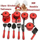 Kit 13x Jouet Enfant Ustensiles Plastique Pr Cuisson Cuisine Maison Jeu Dinette