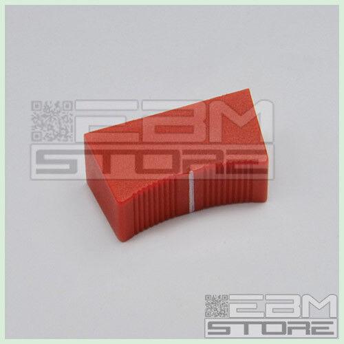 W002 Manopola ROSSA per slider potenziometro lineare potenziometri ART