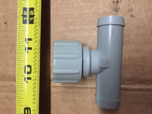 "54 175 50-3//4/"" W// Drain Cap /& Seal Set Of Three Radiator Flush Tees By Good"